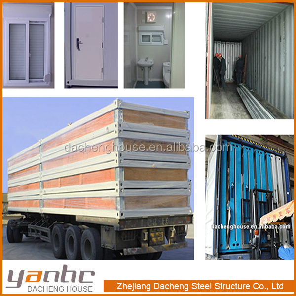 20ft 40ft Expandable Combined Flat Pack Modular Container House