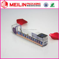 nail polish transparent box packaging