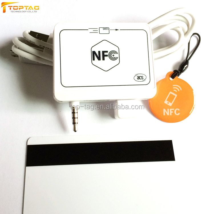 Android / Iphone Smart Bank Card 13.56Mhz NFC Reader for Payment