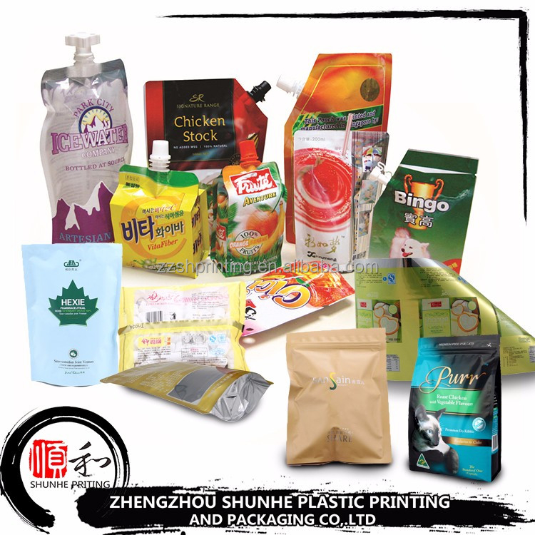China supplier high quantity transparent food packaging