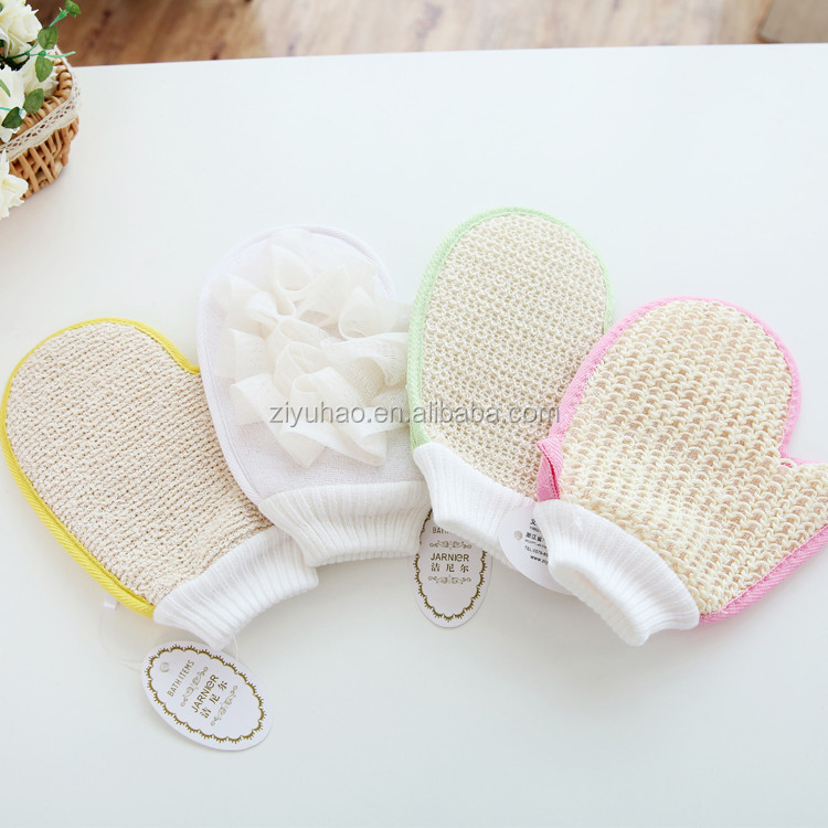 Hot sale promotion personal use shower glove / bath glove