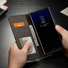 CaseMe Wallet Leather Case For Samsung Galaxy Note 8 Jean PU Magnetic Flip Cover,For Galaxy Note 8 Flip Cover