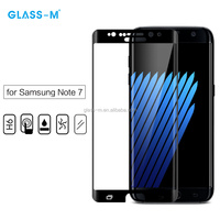 Mobile Accessories Full Cover Clear Glass Screen Film for Samsung Note 7