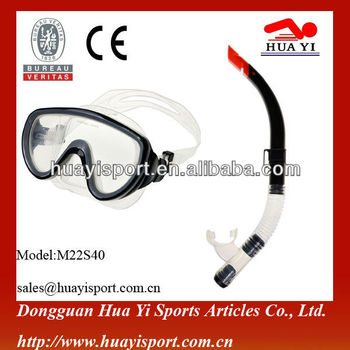 Durable silicone mouthpiece snorkel