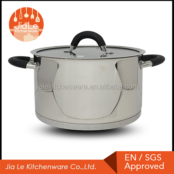100% Quality guaranteed mirror polish stainless steel casserole as seen on tv