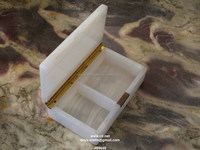 White onyx Jewelry box