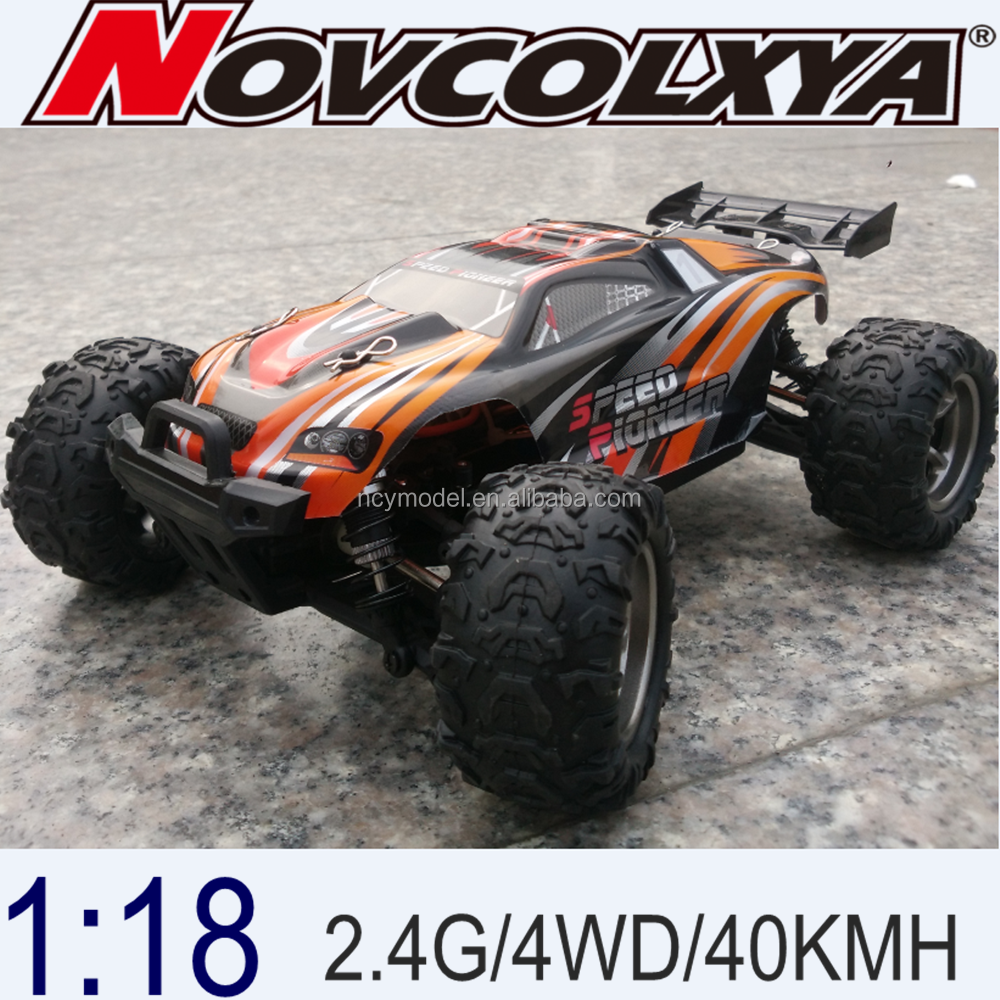 1:18 waterproof remote control car 2.4G radio control car racer 4WD rc hobby cars for sale 2017 New