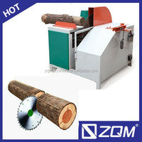 woodworking sawing machine single blade round log rip saw