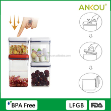 Best Price Clear Food Grade BPA Free Storage Container/ New Creative Promotional Gifts