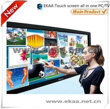 65inch EKAA Large size All-In-One desktop computer with TV/touchscreen/wifi/camera/BD-DVD/microphone
