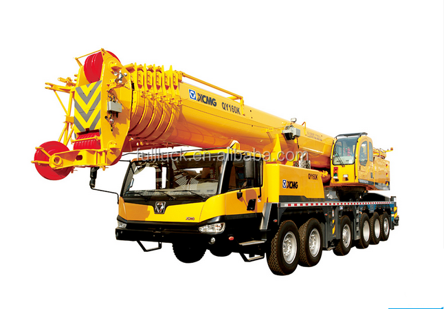 China brand 160 tons hot selling truck mounted crane