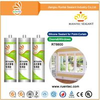 JS-5068 Ketoxime Stainless Steel Door And Window Silicone Sealant