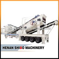 Hot Sales Gold Mining Equipment/Portable Crusher/Mobile Crusher
