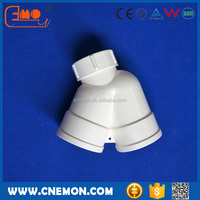 PVC Plastic U-Trap pipe fitting with Cleanout