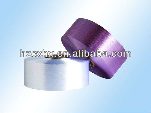 100% polyester PET filament polyester filament yarn POY polyester yarn semi dull or trilobal bright recycled yarn