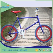 20 24 26 Inch single speed Customized Colors mini fixie bike
