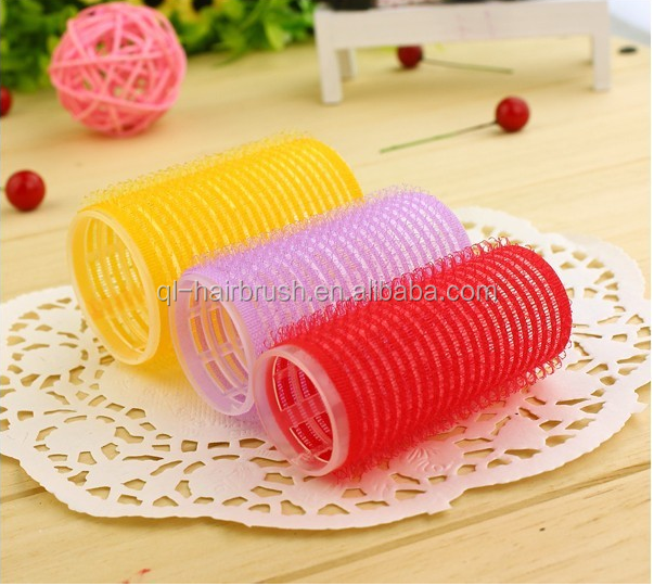 2015 Magic Velcro Rollers, Plastic Hair Rollers Professional Factory Prices