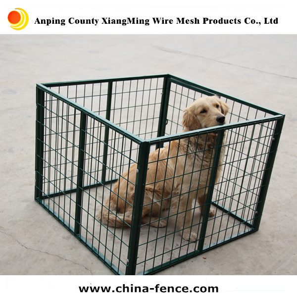 powder painted wire mesh fencing dog cage