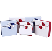 Fresh cure <strong>paper</strong> box gift for present pack decorated with floral satin with earth and heaven shape