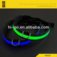 2013 new design rechargeable led Dog Collar