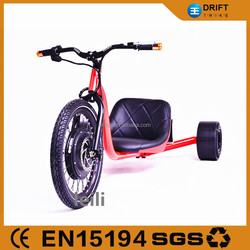 optional color 1000w electric drift trike front big wheel flying trike for sale