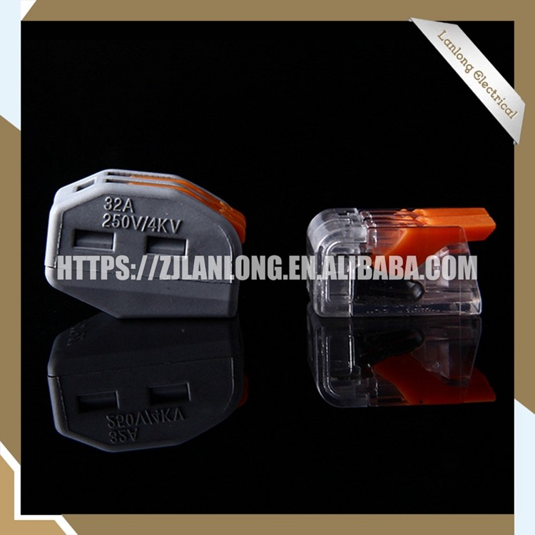 Professional OEM Replace wago 221-412 compact structure wire connector