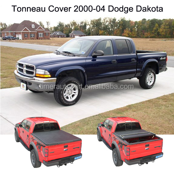folding soft tonneau cover for 2000 04 dodge dakota truck tunnel covers buy tunnel covers. Black Bedroom Furniture Sets. Home Design Ideas