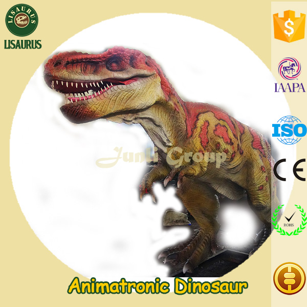 Lisaurus-I high quality life size high definition dinosaur for sale amusement machines life-size robotic dinosaur