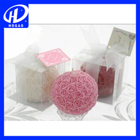 Wedding Gift Rose Valentine Candle Ball-flower Candle Decoration