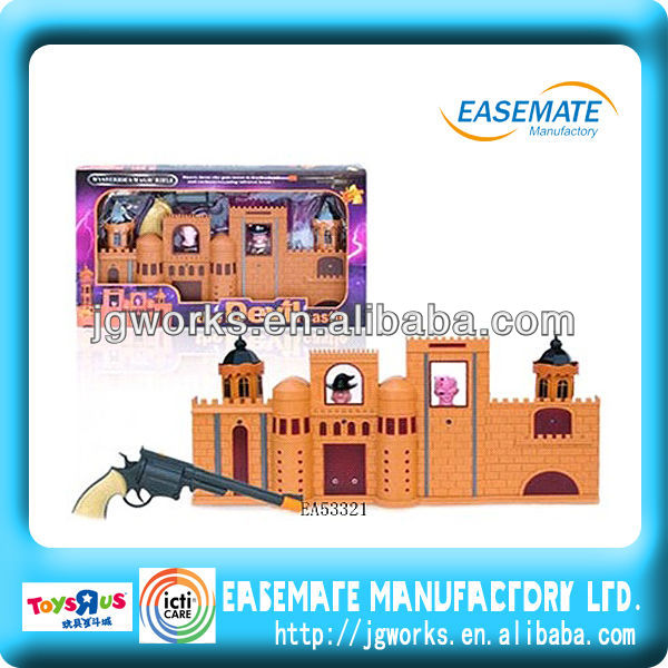 Infrared shooting toy laser gun toys castle toys