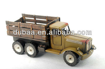 1921 Black Post Truck Souvenir Gifts Crafts,Promotion Gift and Craft,Antique Imitation Crafts Dubaa Fashion DB01582 Tractor U.S.