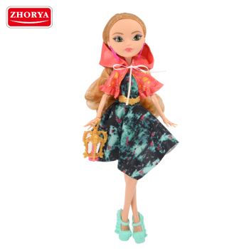 Zhorya 11 inch plastic KaiBiBi princess dolls with new doll accessories