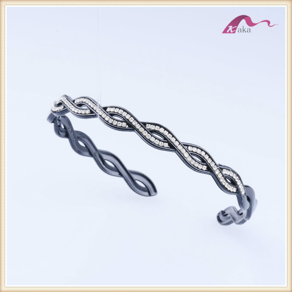 fashion jewelry elastic head band rhinestone hair band