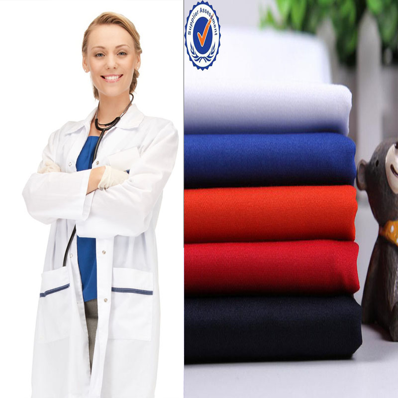 small MOQ workwear/uniform/school uniform fabric material