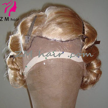 zmhair costume historical wig old shanghai lady wig