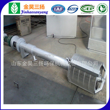 Sewage processing rotary drum mechanical bar screen machine/rotating bar screen