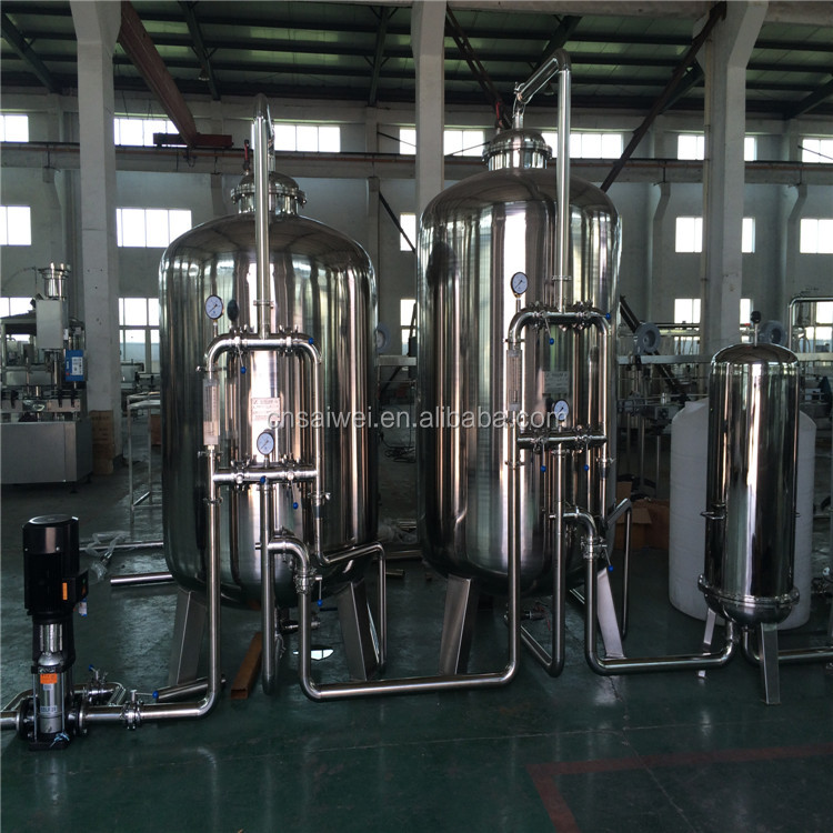 pure/mineral water treatment plant
