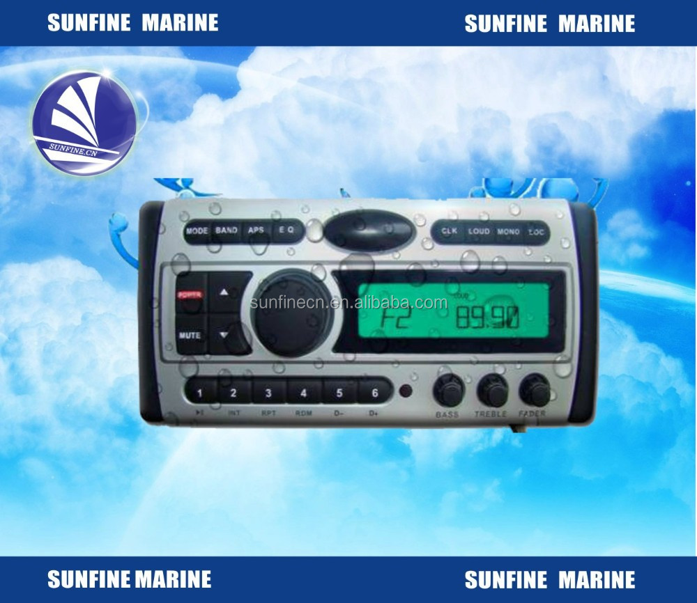 waterproof am fm radio waterproof dvd marine cd player