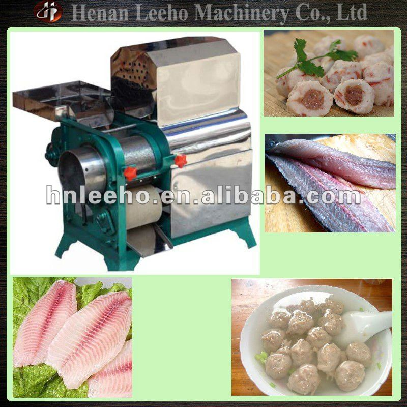 Fish Segmentation Machine/Flesh Bone Separator 0086 13526696760