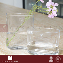 Casamotion Modern Tall Oblong Flat Pack Vase