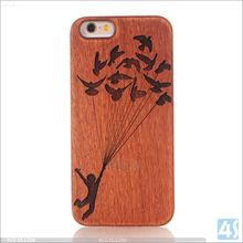 2016 mobile phone accessories PC Wood Case for iPhone 5 5s SE