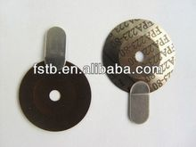 Bimetal disc thermal switch for electric iron