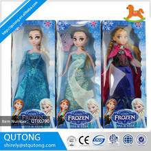 OEM High quality 11.5inch 3stlyes mixed Frozen collection doll innovative products for sale