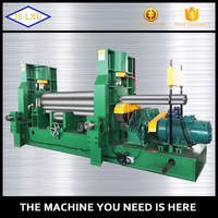 CNC Upper roller universal steel iron plate rolling machine