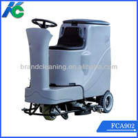 battery type floor scrubber