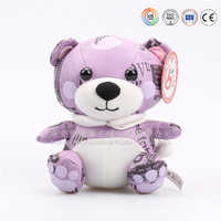 pp cotton kid toys plush doll mini small teddy bear flower bouquets bear for wedding
