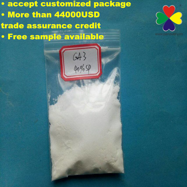 Gibberellic Acid Water Soluble Powder CAS 77-06-5 Ga3 40%SP ga3 40% sp/wp