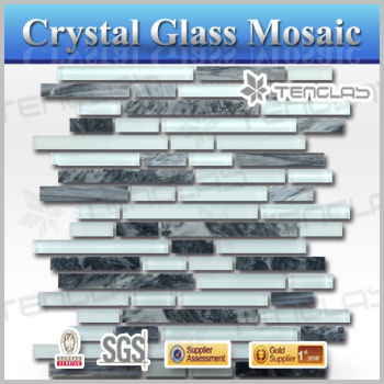 2014 new design beautiful glass mosaic tile victory mosaic