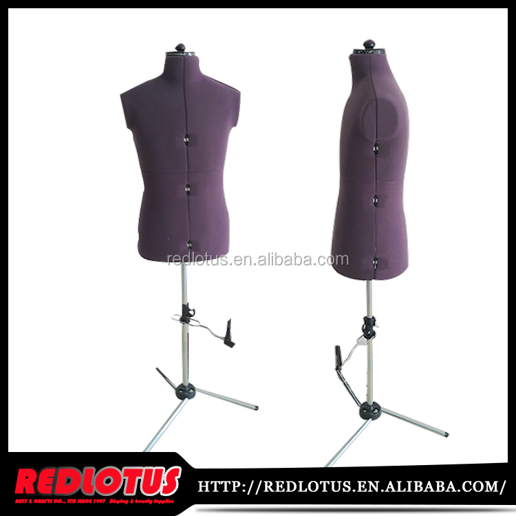 The new purple products dress form mannequin dress accpet sample