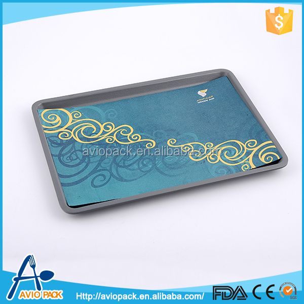 Top quality durable airplane art paper non-slip tray mat